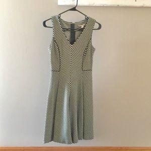Women's Stripe Skater Dress